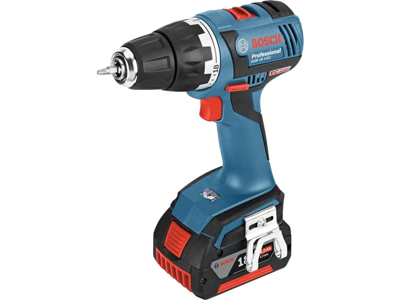 bosch 06019d6100 gsr18vecn 18v brushless drill driver bare unit ebay. Black Bedroom Furniture Sets. Home Design Ideas