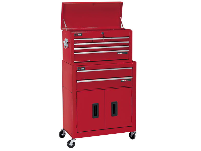 redline rl rct8 8 drawer roll cab tool chest and cabinet