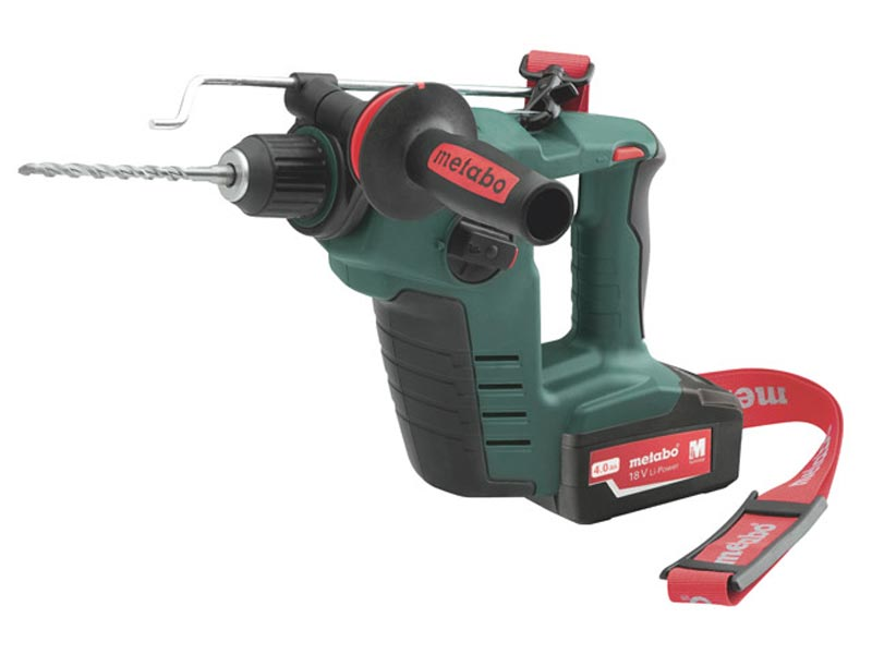 metabo bha18ltx 18v sds hammer drill kit 2 x. Black Bedroom Furniture Sets. Home Design Ideas