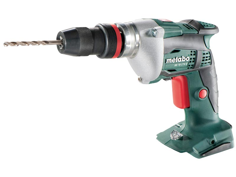 metabo be18ltx6 18v cordless power drill bare unit with inlay tray. Black Bedroom Furniture Sets. Home Design Ideas