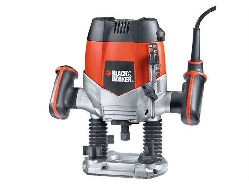 Black & Decker B/DKW900EKA KW900EKA 1/4in Router - Variable Speed 1200w