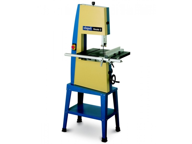Scheppach BASATO3 Vario Bandsaw 205mm Complete with Stand and Wheel Kit