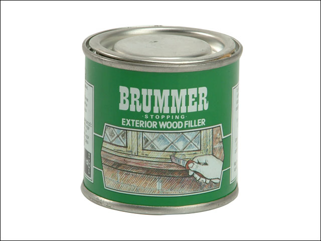 Brummer Brugsbe Green Label Exterior Wood Filler Beech 250g