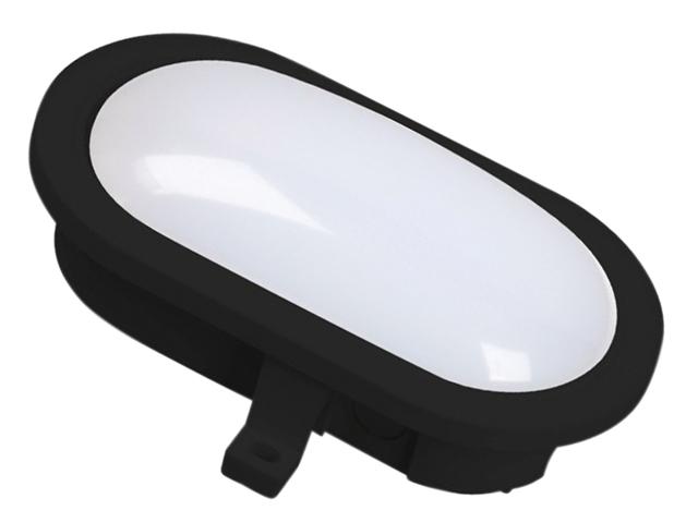 Byron BYRGOL001HB GOL001HB LED Oval Bulkhead Black 55