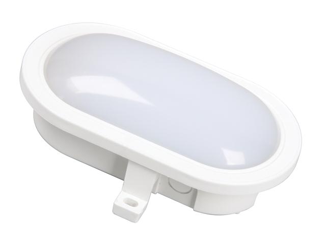Byron BYRGOL001HW GOL001HW LED Oval Bulkhead White 55