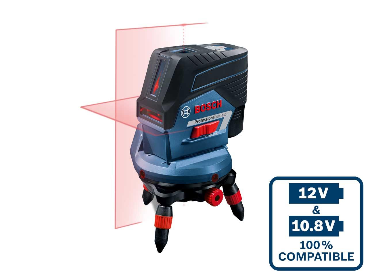 Bosch Gcl250cgb 12v 2 0 Ah Rm2 Combi Laser Green Beam