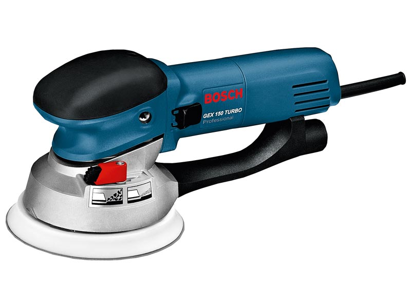 bosch gex1501 turbo random orbit sander 110v 600w. Black Bedroom Furniture Sets. Home Design Ideas