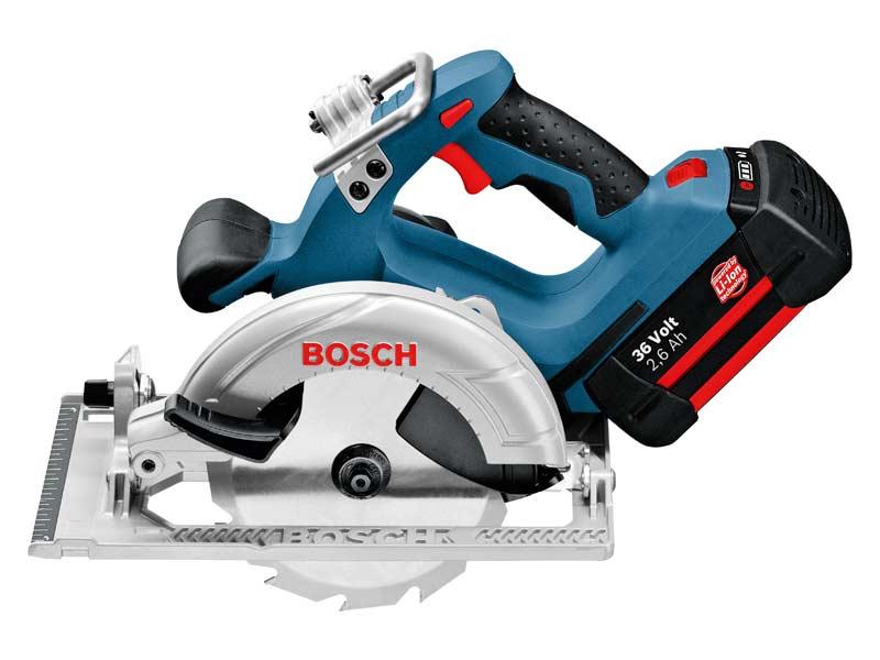 Bosch Gks36v Li 36v Cordless Circular Saw 2 X 2 6ah Li Ion
