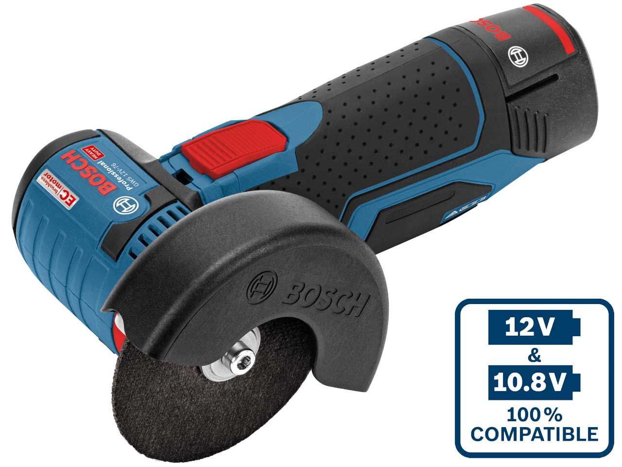 Bosch Gws12v76n 12v 76mm Angle Grinder Bare Unit
