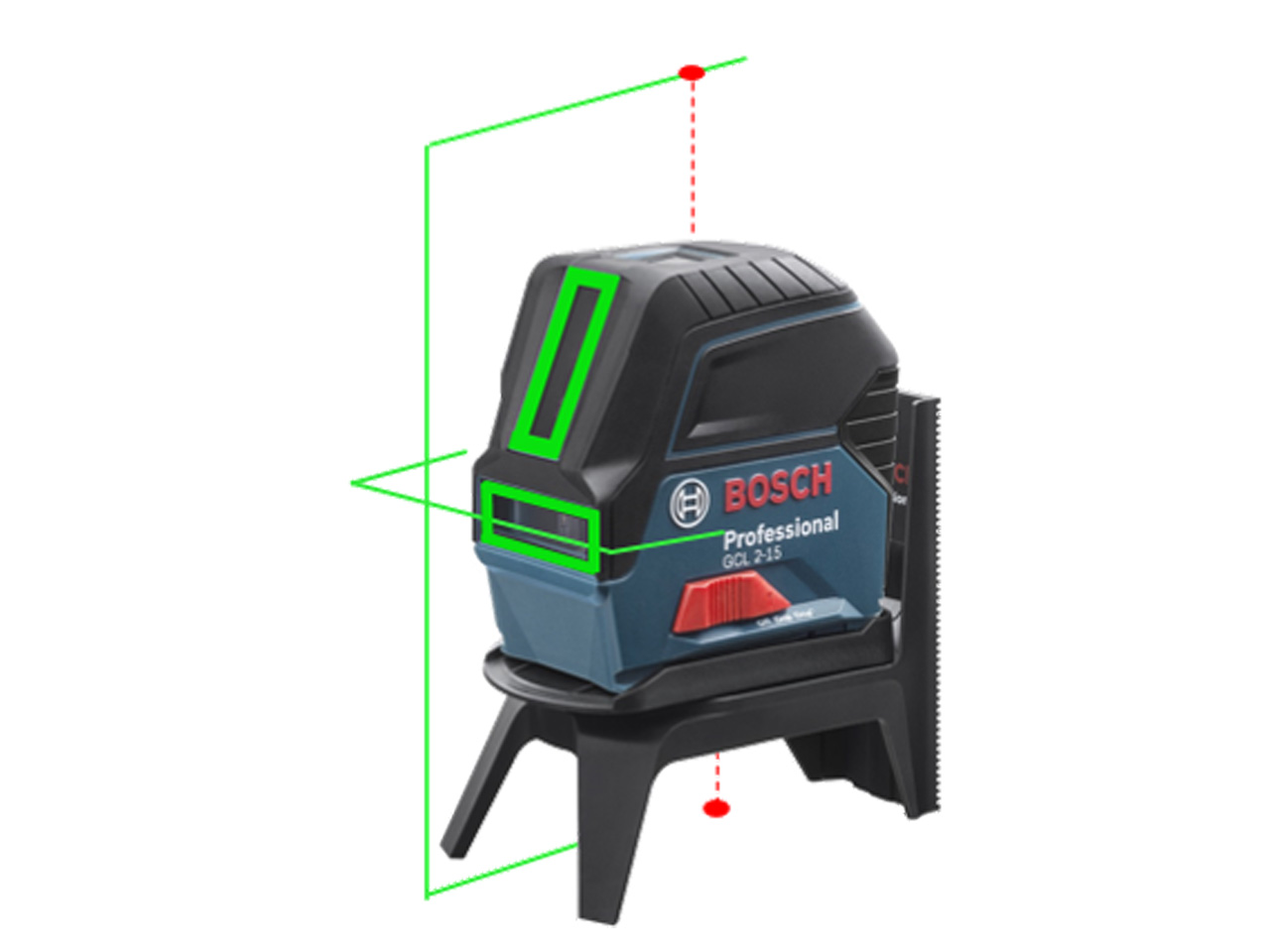 bosch gcl 215 g professional green beam combi laser. Black Bedroom Furniture Sets. Home Design Ideas