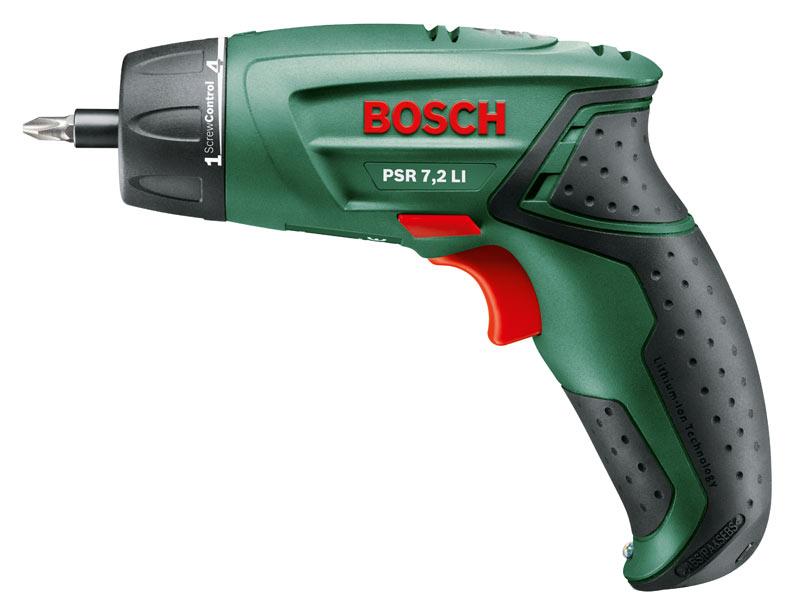 Bosch Green Psr 7 2 Li 7 2v Li Ion Cordless Screwdriver