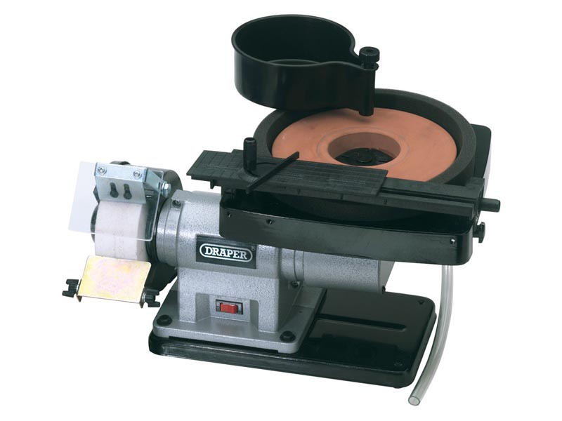 Draper Bgwd205a 230v Wet And Dry Bench Grinder