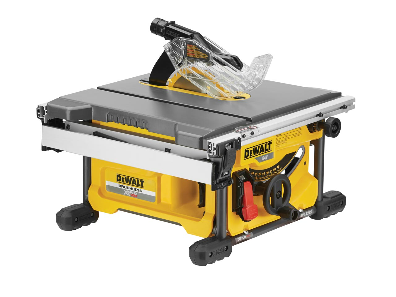 Dewalt dcs7485n xj 54v xr flexvolt 210mm table saw bare unit for 12 dewalt table saw