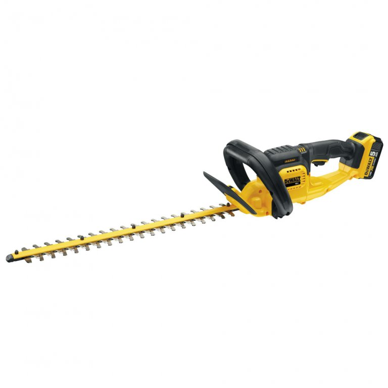 dewalt dcm563p1 18v hedge trimmer with 1 x and charger. Black Bedroom Furniture Sets. Home Design Ideas