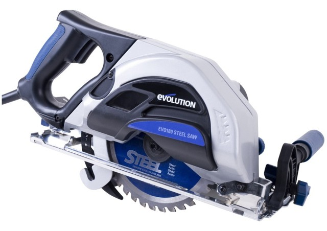 EVOLUTION EVO180 Steel / Metal Cutting Circular Saw 240v