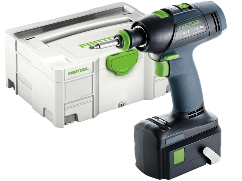 festool t 18 3 li plus gb 18v cordless drill 2 x 5 2ah in systainer 2. Black Bedroom Furniture Sets. Home Design Ideas