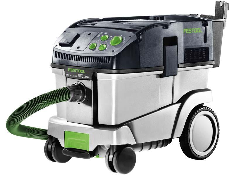festool ctm 36 e ac hd 240v cleantec 36l mobile dust extractor. Black Bedroom Furniture Sets. Home Design Ideas