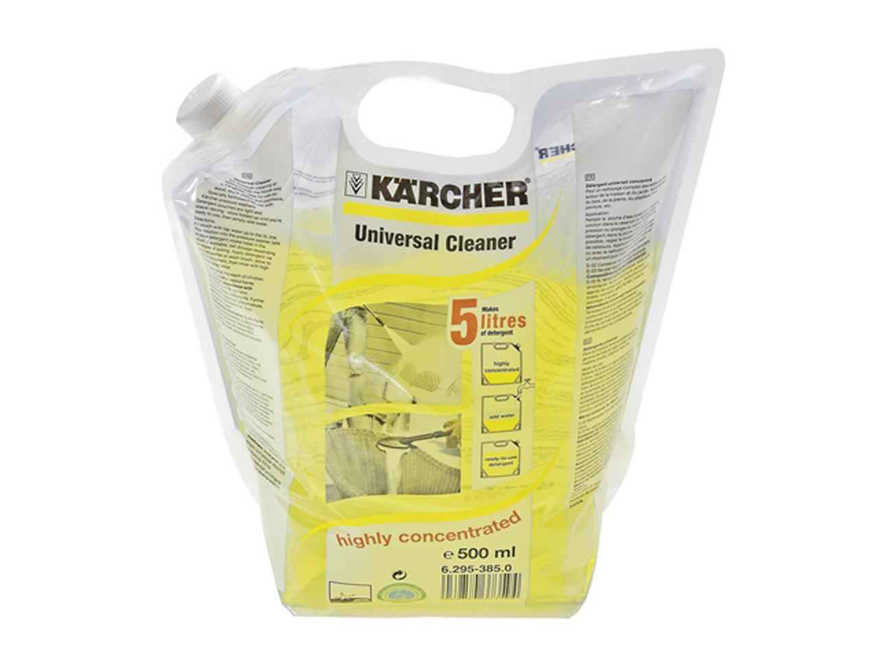 karcher plug and clean instructions