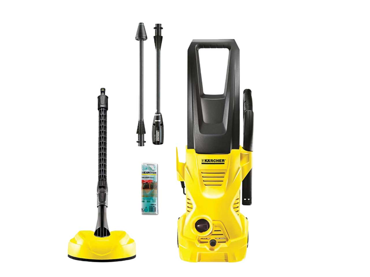 karcher k2hav 240v 110 bar pressure washer plus free wb60. Black Bedroom Furniture Sets. Home Design Ideas