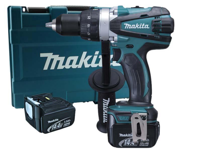 makita bdf448rfe lxt drill driver 2 x 3 0ah li ion kit. Black Bedroom Furniture Sets. Home Design Ideas