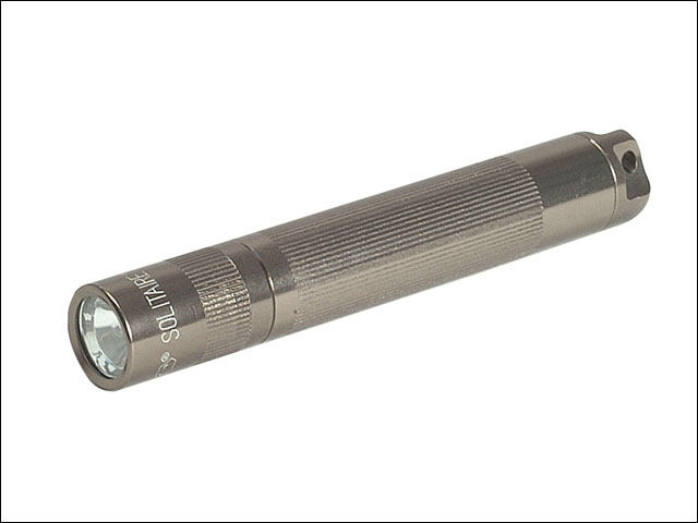 Maglite MGLK3A096 K3A096 Mini Mag AAA Solitaire Torch Blister Pack - Grey