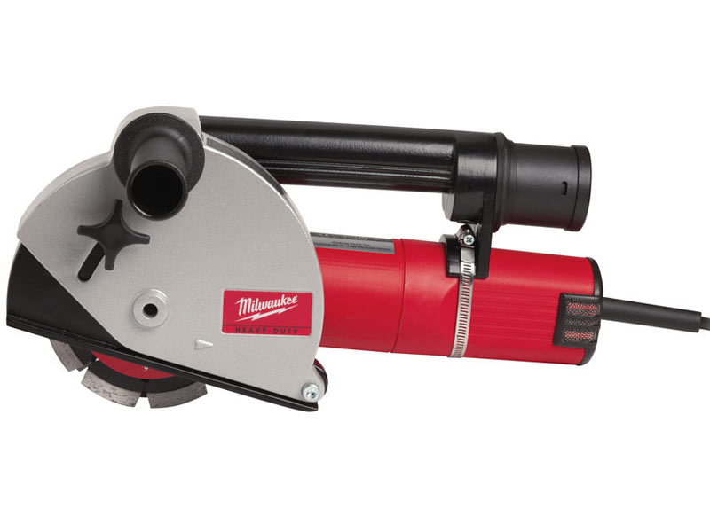 Milwaukee Laser Wall For Saw : Milwaukee wce v wall chaser mm