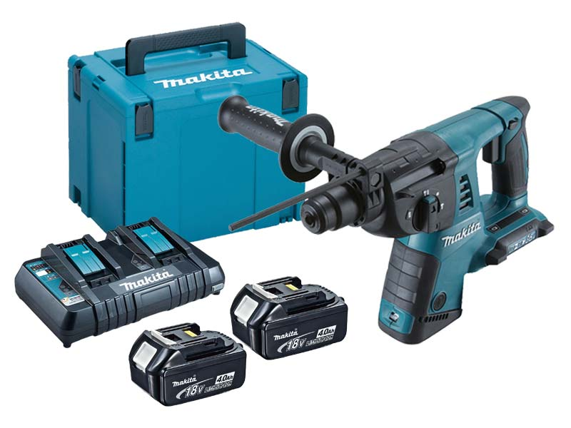 makita ffxdhr263kit 5 36v dhr263 5 0ah sds plus hammer. Black Bedroom Furniture Sets. Home Design Ideas