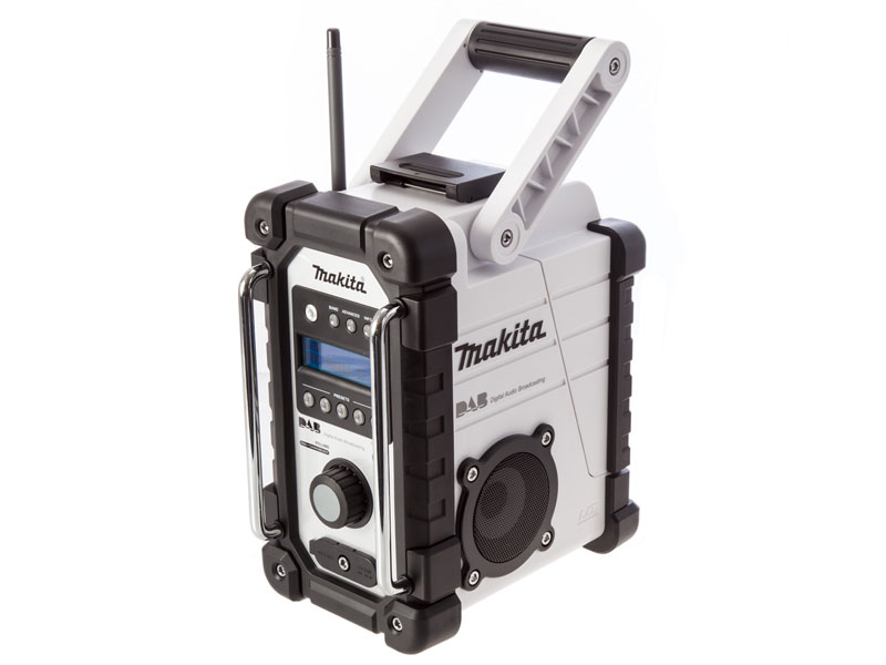 Makita Dmr104 Job Site Radio With Dab 240v