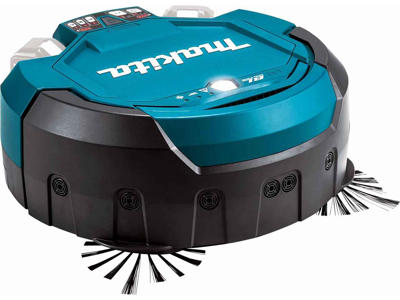Makita drc200z twin 18v 36v lxt robotic vacuum cleaner for Robot sweepy