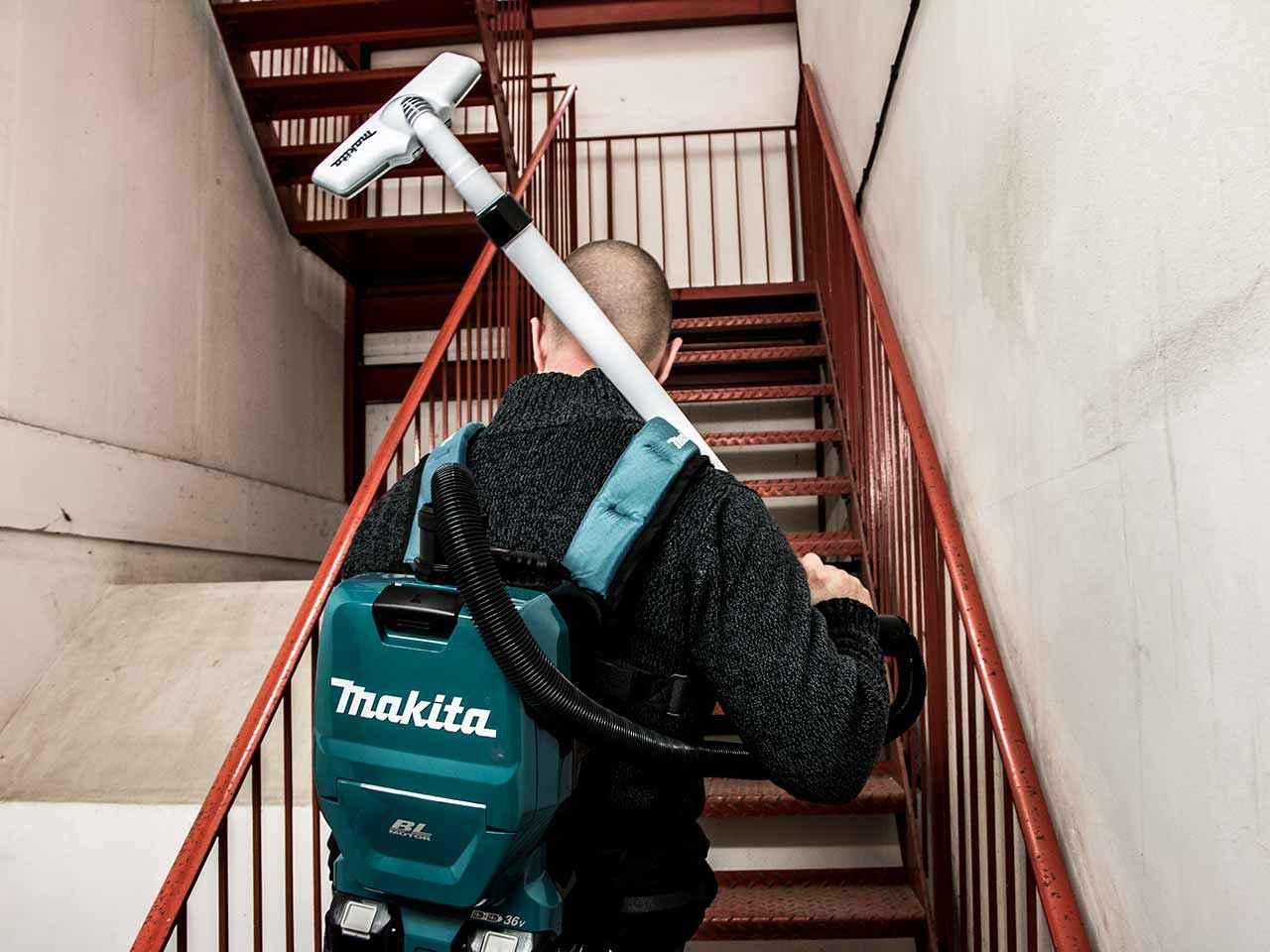 Makita Dvc260z Twin 18v 36v Backpack Vacuum Cleaner Bare Unit