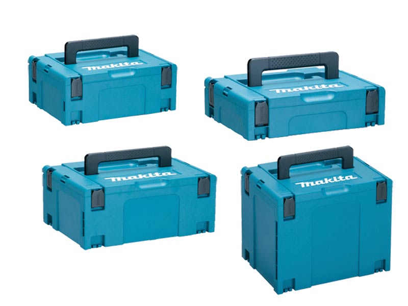 Makita Makpac Pack Of 4 Connector Case Type 1 2 3 And 4