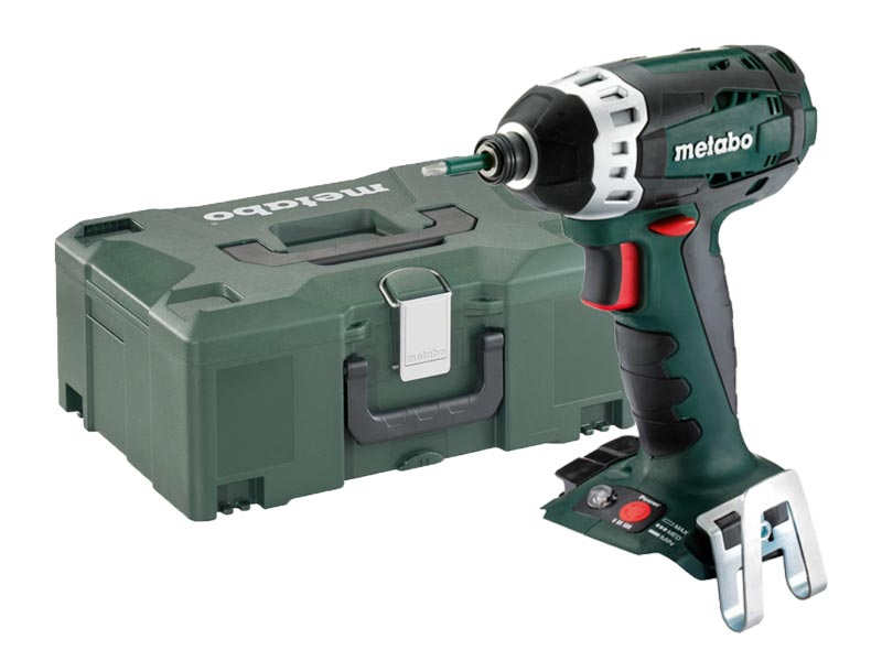 metabo ssd18ltx200 18v 1 4in impact driver bare unit and metaloc. Black Bedroom Furniture Sets. Home Design Ideas