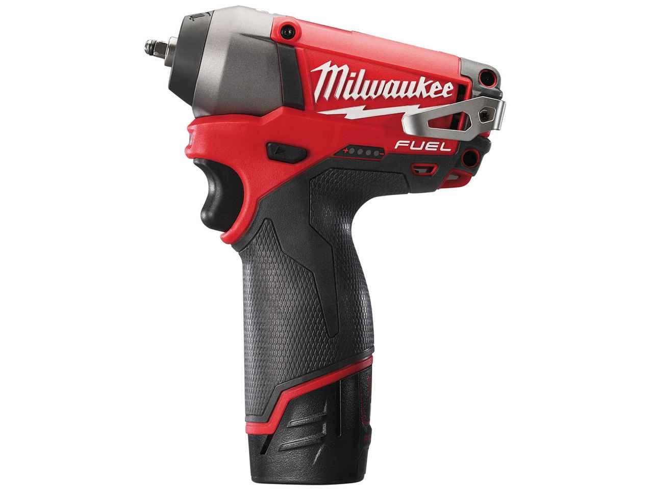 Milwaukee M12CIW14-202C 12v FUEL 1/4in Impact Wrench 2 x 2.0Ah Li-ion