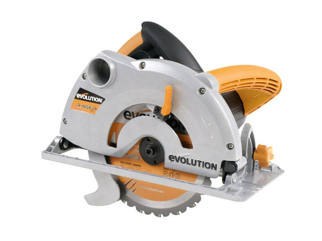 EVOLUTION RAGE-B185/2 Rage-B 185mm TCT Circular Saw 240v Inc TCT Blade
