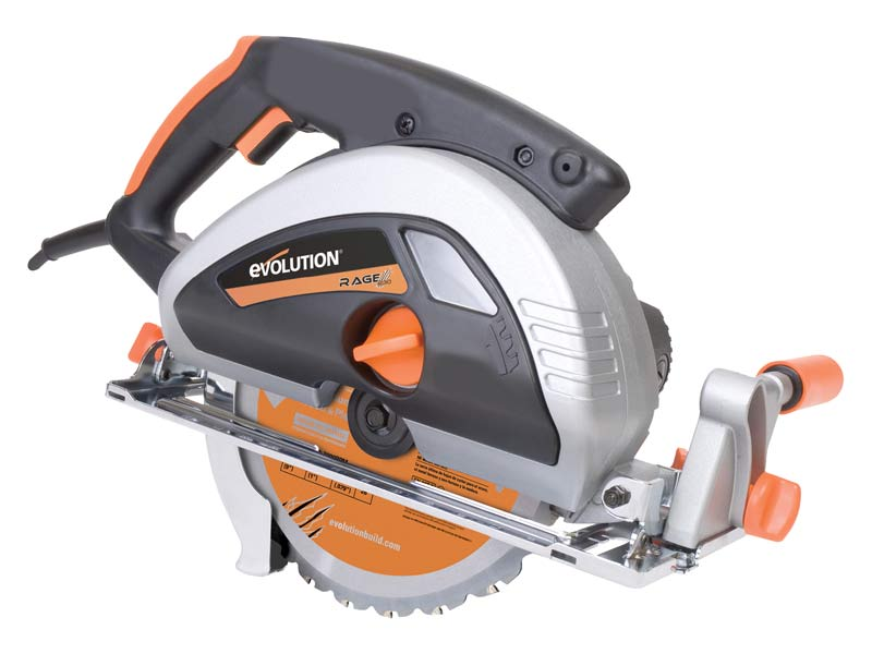 EVOLUTION RAGE230/2 Rage230 230mm Multipurpose Circular Saw 240v