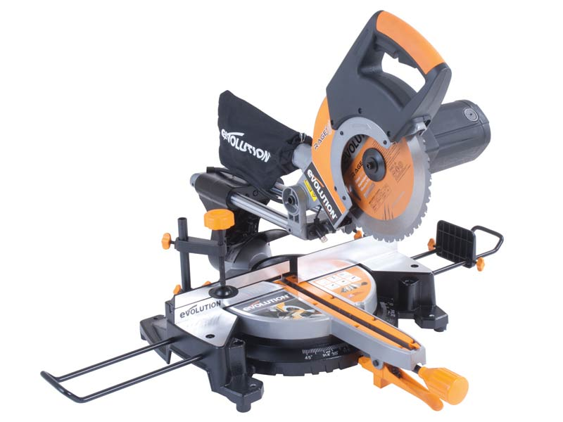 EVOLUTION RAGE3/2 Rage3 255mm Multipurpose Sliding Mitre Saw 240v