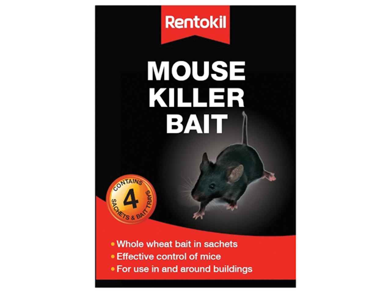 how to stop a dog scratching from a mouse bait