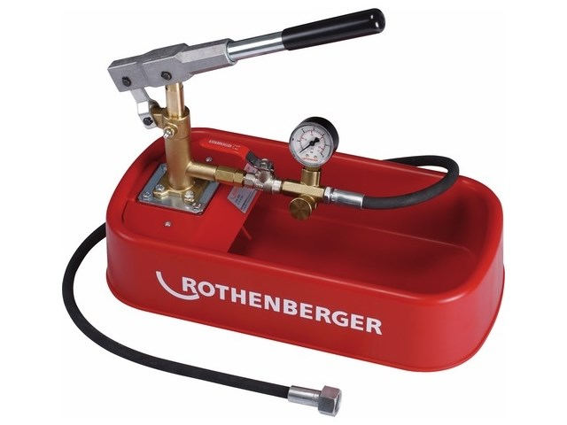 ROTHENBERGER 61130 Pressure Test Pump RP30