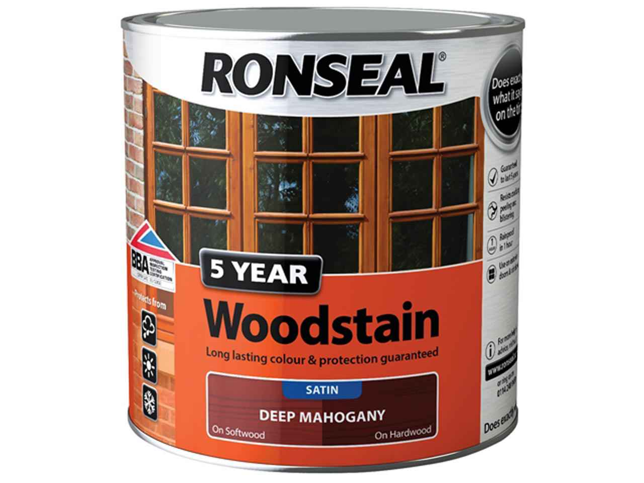 Ronseal Rsl5ywap750 5 Year Woodstain Antique Pine 750ml