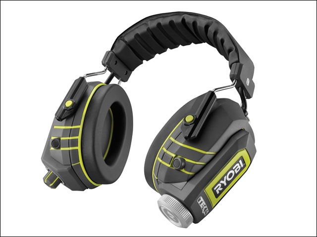 Ryobi RP4530 TEK4 4v Audio Noise Suppression Headphones includes Batt + charger