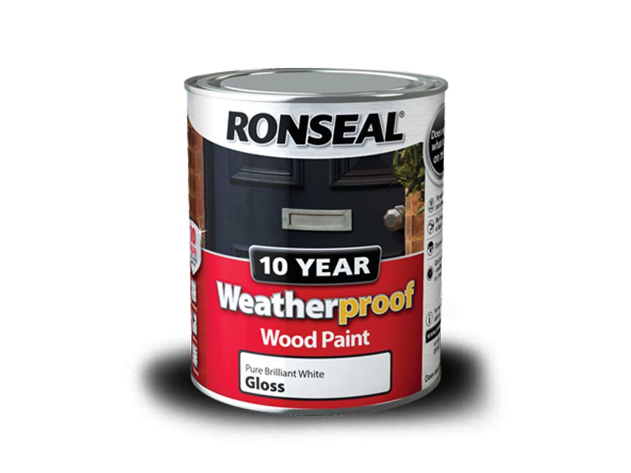 Ronseal Wprbg750 750ml Weatherproof 10 Year Exterior Wood