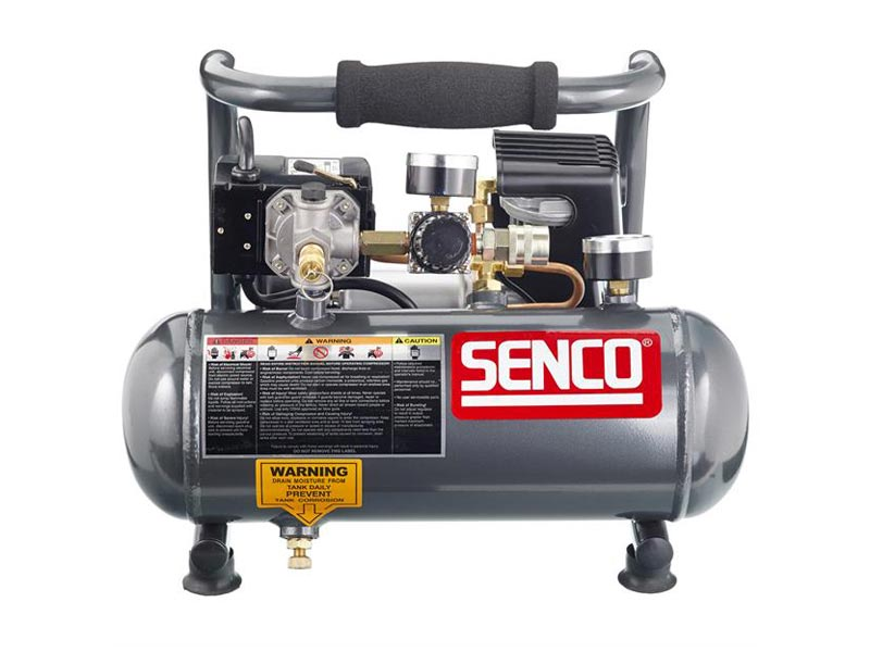 senco pc1010 110v 0 5hp hand carry 3 8 litre compressor. Black Bedroom Furniture Sets. Home Design Ideas