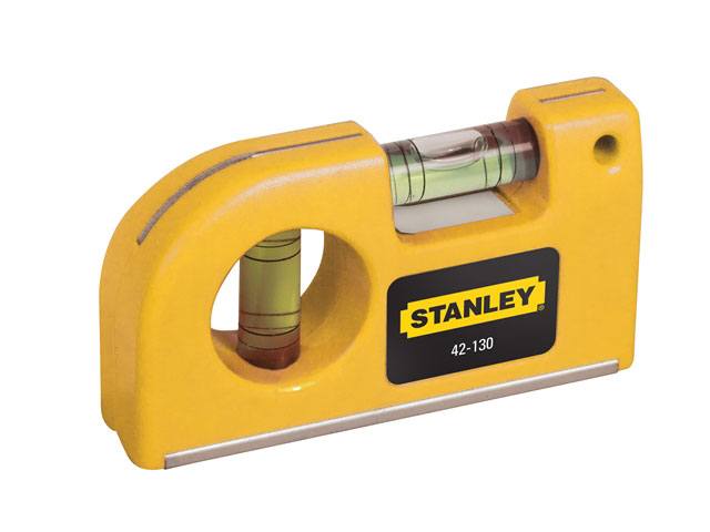 Stanley STA042130 Magnetic Horizontal / Vertical Pocket Level