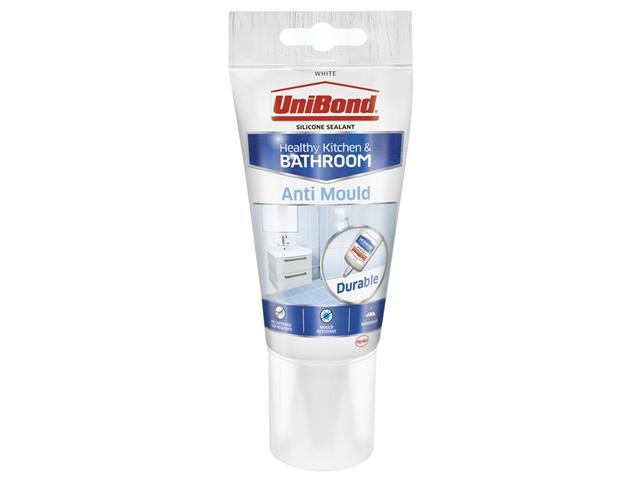 Unibond 2079321 Anti Mould Kitchen Amp Bathroom Sealant Tube