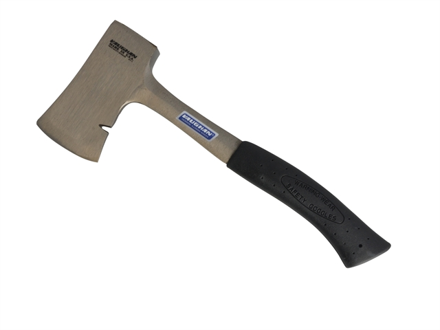 Vaughan 334-02 AS114 Camping Axe All Steel & Sheath 567g (1.1/4lb)