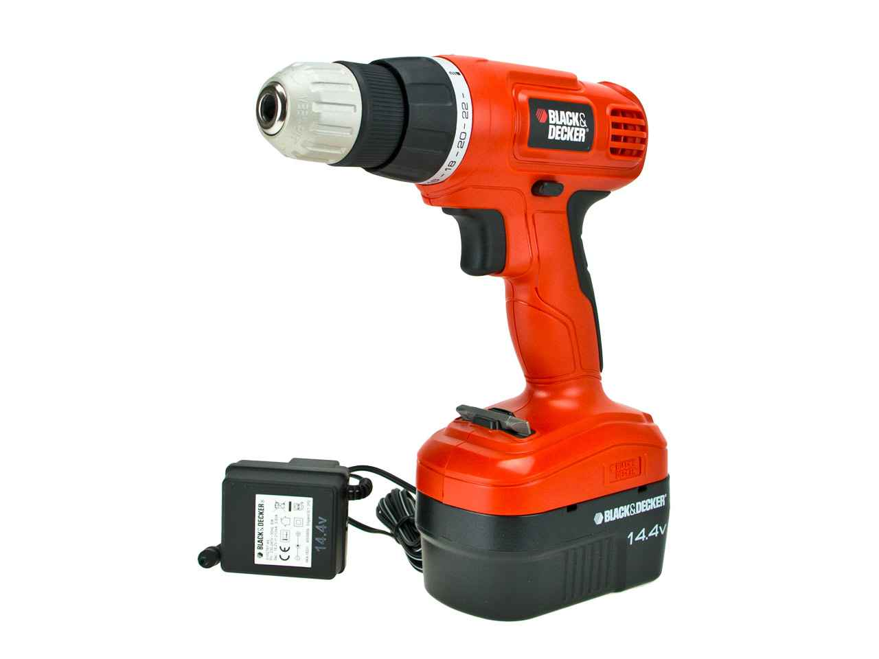 black and decker epc14ca 1 0ah nicd cordless drill. Black Bedroom Furniture Sets. Home Design Ideas