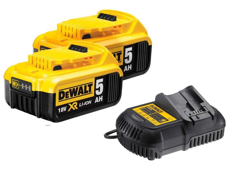 Dewalt Dcb184 18v Xr Li Ion Battery 5 0ah