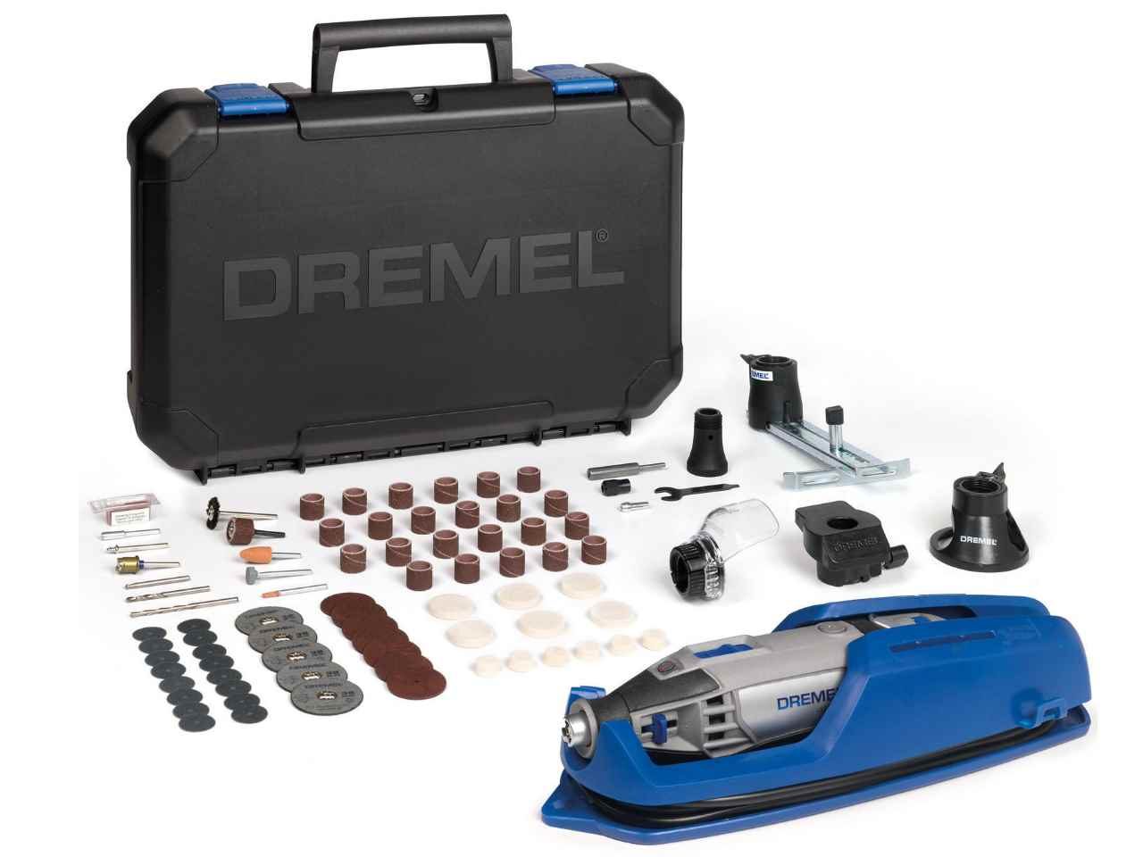 dremel f0134200jf 4200 4 75 ez wrap multi tool with attachments. Black Bedroom Furniture Sets. Home Design Ideas
