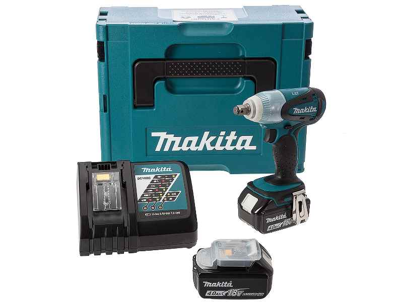 makita dtw251rmj 18v 2x4 0ah li ion lxt impact wrench. Black Bedroom Furniture Sets. Home Design Ideas