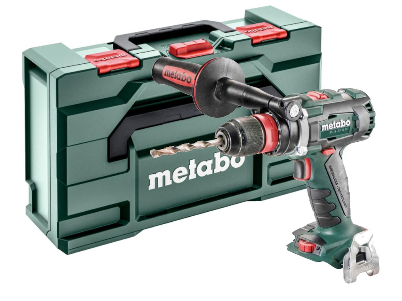 metabo bs18ltx 18v quick drill driver 2 x li ion. Black Bedroom Furniture Sets. Home Design Ideas